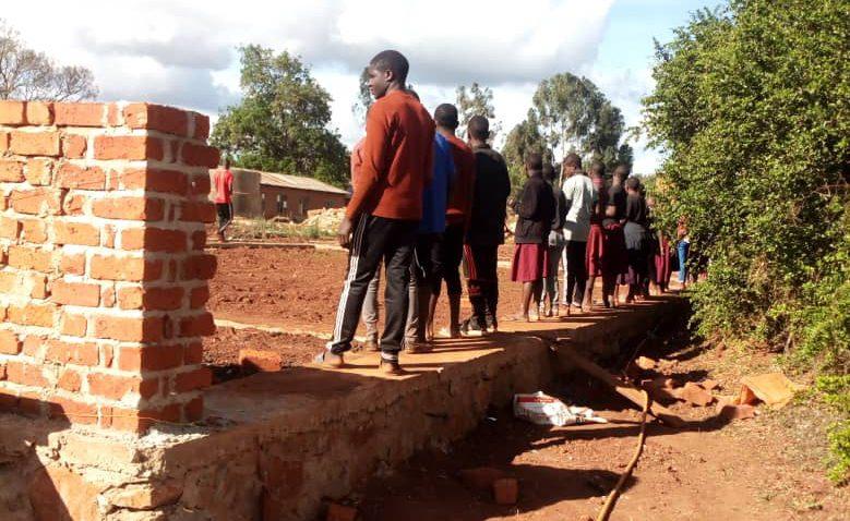Nov 13, 2019:  Construction of the walls have already begun