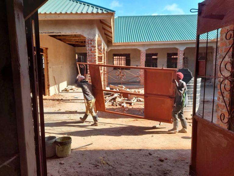 Jun 3, 2021: Door being ready for installation