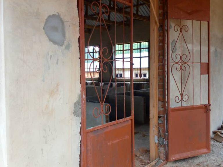 Jun 5, 2021: Classroom security door installed